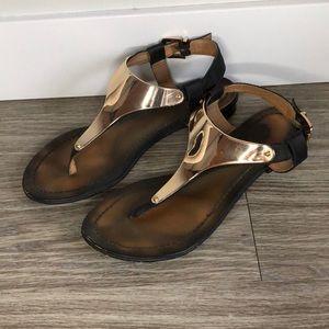 Aldo T-Strap Sandals